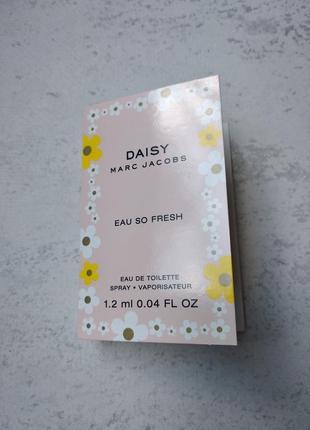 Пробник туалетної води marc jacobs daisy