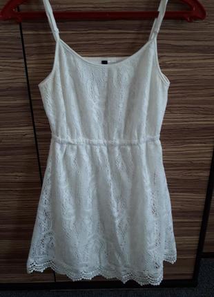 🌞красивый кружевной сарафан платье