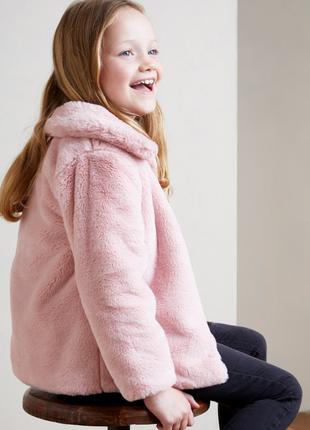 Классная куртка из искуственного меха от dunnes stores на 3-4,4-5,7-8лет, англия