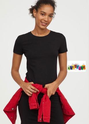 Платье футболка h&m m