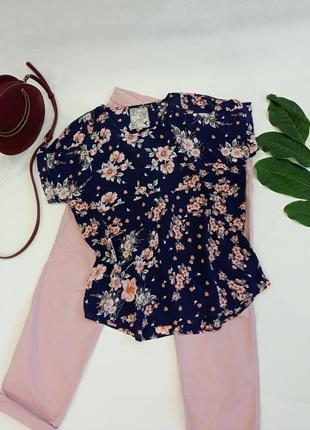 Блузка в цветочный принт spirti at m&co
