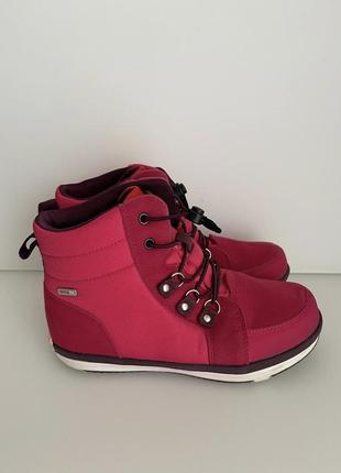 Непромокаемые ботинки демисезонные reima wetter,размер 34