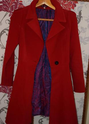 Кашемірове пальто pink