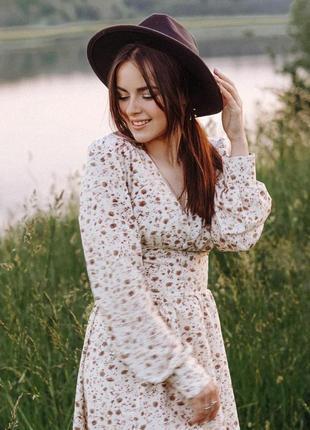 Очень крутое,милое летнее платье(цветочный принт)