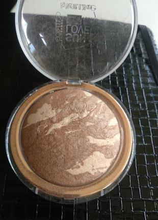 Catrice sun lover glow bronzing powder. бронзер, пудра бронзирующая