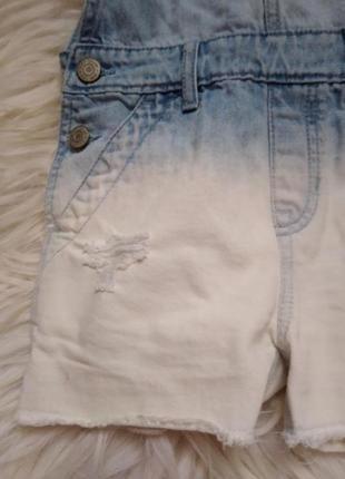 Шорти джинсові комбінезон