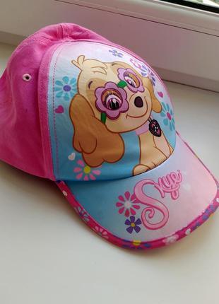 Кепка кашкет шапка бейсболка кепи кепі щенячий патруль paw patrol