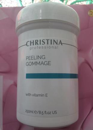 Christina пилинг гоммаж с вит.е распив peeling gommage with vitamin e