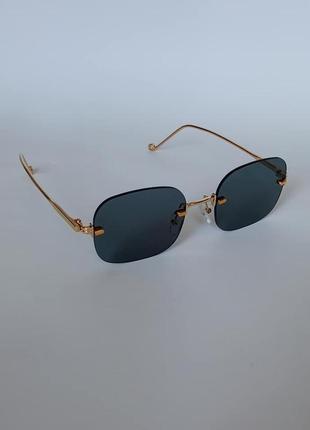 Безоправные солнцезащитные очки