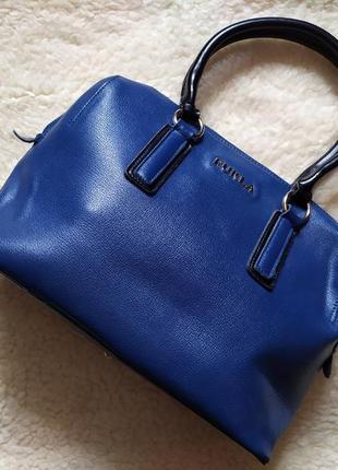 Сумка сумочка из натуральной кожи в стиле furla