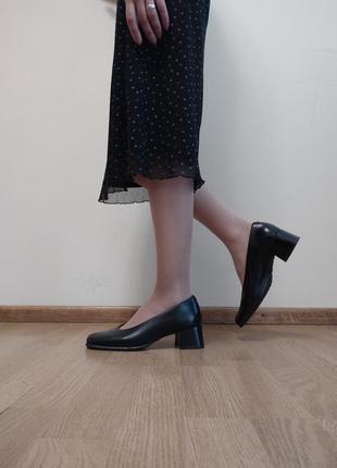 Туфлі ecco, натуральна шкіра/натуральная кожа