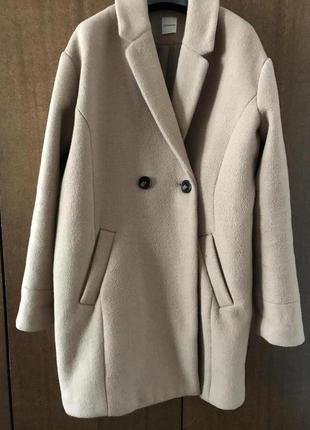Пальто цвета camel promod