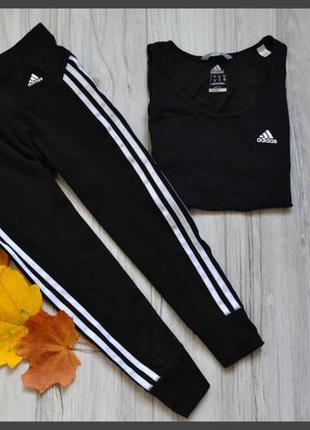 Спортивные лосинки adidas,р-р м