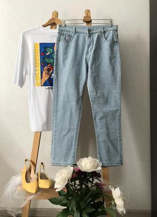 Літні джинси з високою посадкою