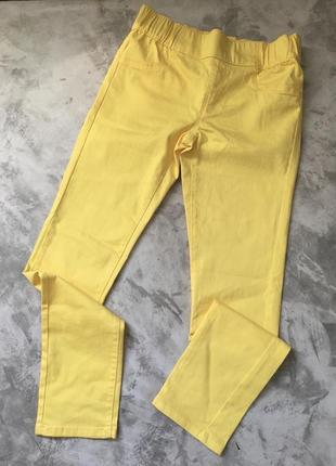 Лётные джинсы на резинке