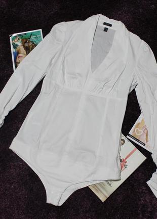 Рубашка - боди немецкого бренда esprit р. 12 м