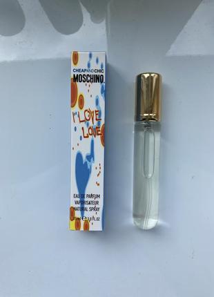 Духи-ручка moschino i love love 20ml