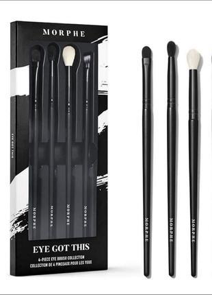 Набор кистей для макияжа глаз morphe eye got this brush set
