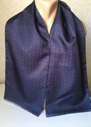 Статусный мужской шарф 26*140