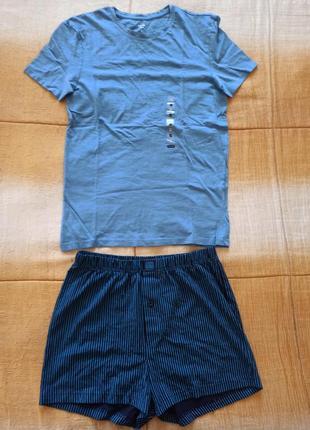 Мужской комплект нижнего белья c&a s футболка и шорты