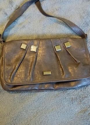 Жіноча сумка esprit темно-сіра