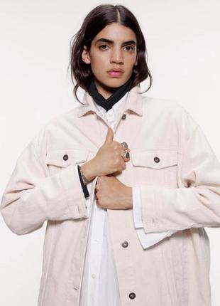 Плотная вельветовая рубашка куртка джинсовая пиджак вельветовый