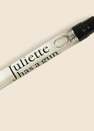 Juliette has a gun/not a perfume/мініатюра парфумів/нішева парфумерія/аромат чистоти/парфум