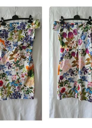 Красивенное платье m-l.