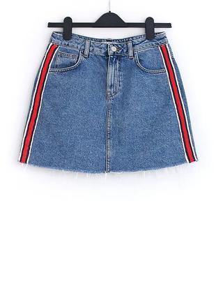 Чудесная джинсовая юбка  • р-р 8\36 (s)
