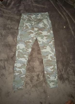 Штаны джинсы женские супер стрейч