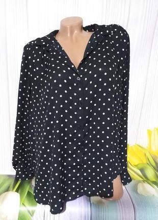 Обалденная шифоновая блуза размер l