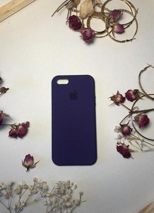 Силиконовый чехол на айфон 5 5с кейс silicon cases for iphone 5 5s чохол1 фото