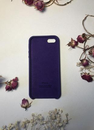 Силиконовый чехол на айфон 5 5с кейс silicon cases for iphone 5 5s чохол2 фото