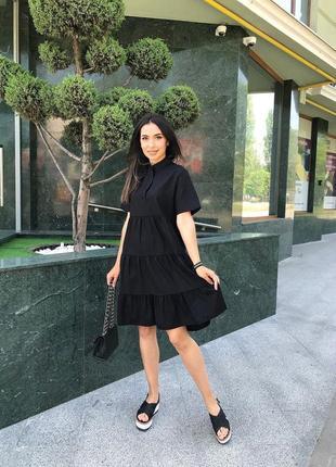 Льняное платье3 фото
