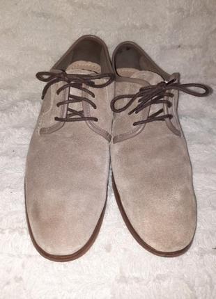 Туфли замшевые clarks p.441 фото