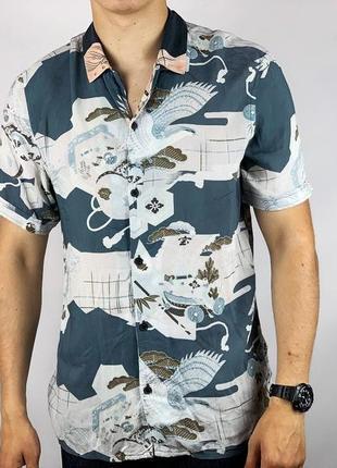 Рубашка с коротким рукавом тениска allsaints