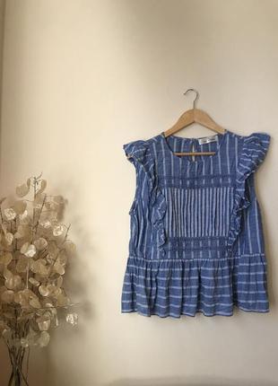 Летняя блуза zara mango hm