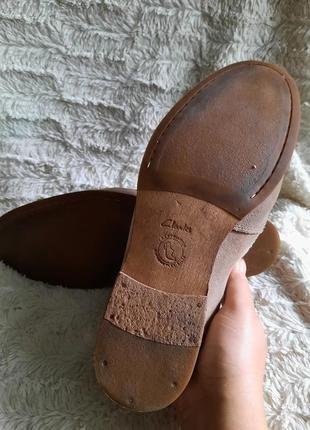 Туфли замшевые clarks p.445 фото