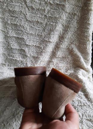 Туфли замшевые clarks p.447 фото
