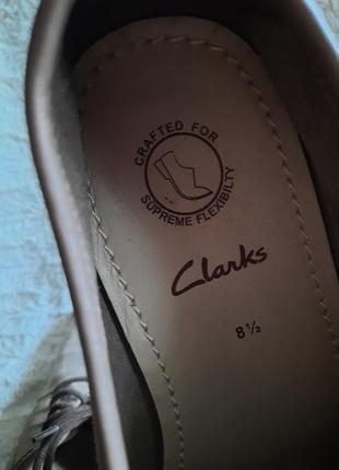 Туфли замшевые clarks p.448 фото