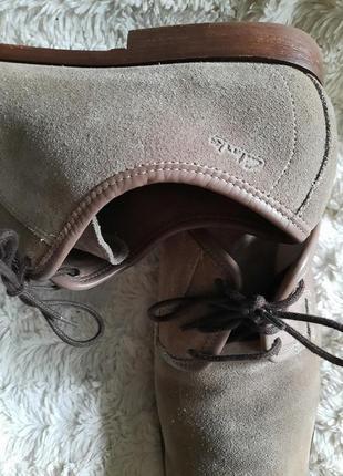 Туфли замшевые clarks p.443 фото