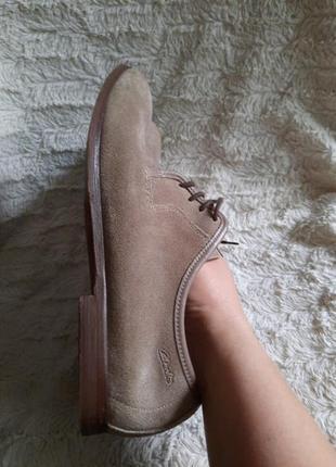 Туфли замшевые clarks p.442 фото
