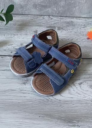 Кожаные босоножки сандали 21 р