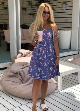 Очаровательное женское платье жен