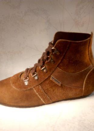 Ботинки от ivanka trump натуральная замша демисез. р.40 оригинал 92e4dd0145bff