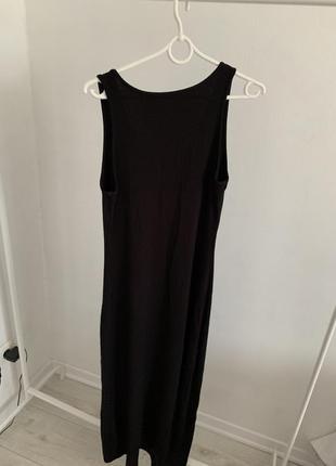 Платья миди чёрное