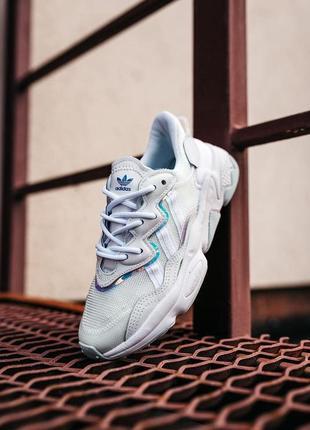Женские кроссовки adidas ozweego white 36-37-38-39-40-41