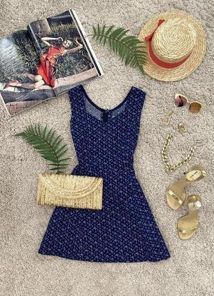 Милое натуральное платье №356