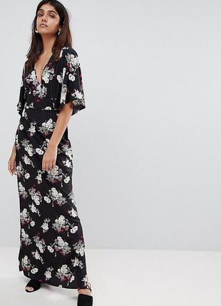 Influence сукня-кімоно в квітковий принт