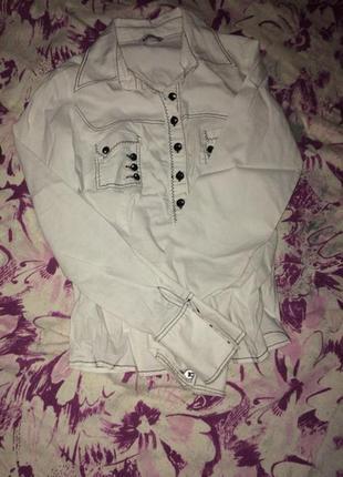 Школьная блуза,приятная к телу